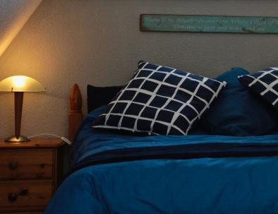 kingsdown chalet 46 - master bedroom