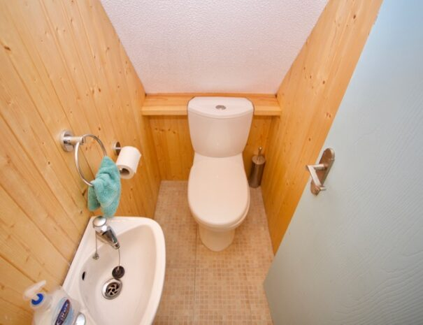 Upstairs toilet
